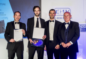 Winner of the Residential Award at the East Midlands fbe Awards 2017 a scheme at Brant Broughton, Lincs